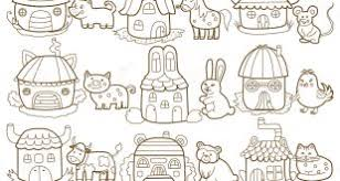 Coloring Pictures Of Animals And Their Homes