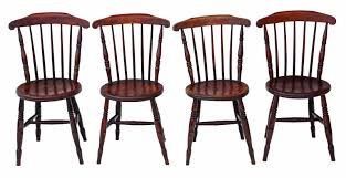 Set Of 4 Victorian Penny Windsor Kitchen Dining Chairs C.1890 - 4819 ... New Low Back Modern Spindle Chairs For The Ding Room Kitchen Better Homes And Gardens Parsons Tufted Chair Multiple Detail Feedback Questions About Goplus 5 Pcs Black Set Shop Costway Piece Glass Metal Table 4 Amazoncom Coavas Of Fabric Cushion Kitchen Hamptons Style Ding Room Table Chairs Home Improvement Ideas The 10 Best Under 100 Apartment Therapy Jofran Shae 3piece Drop Leaf Side Jummico Stackable Indoor Outdoor Chic Bar Fniture Gardnerwhite Cheap For Match Your