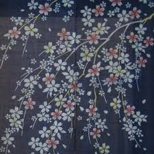 Cherry Blossom Curtain Blue by Images Of Cherry Blossom Blue 1600x1200 Sc