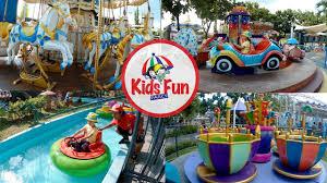 Kids Fun Parcs Yogyakarta Wahana Permainan Anak Anaknya Banyak Sekali