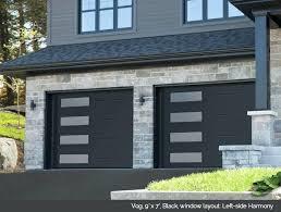 black garage door – mehrwert3