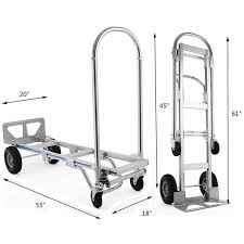 2in1 Aluminum Hand Truck Cart Convertible Warehouse Trolley 4 Wheels ... China 2 In 1 Alinum Hand Truck 200kgs Capacity Dolly Magliner Npk122g2c5c Paddle Brake U Frame Cosco 3in1 618765 Carts Dollies At Roughneck Convertible 3position Handplatform 550 Best Heavy Duty Alinium Hand Trucks Comparison And Reviews Foldable Cart 1000 Lb New 500 Lb With Vertical Loop Vestil Foldup Alinum Truck Archives Tcb Moving Equipment Supplies Spartan Iii Pound 3way Zbond In Folding Trucks 550lbs Stair