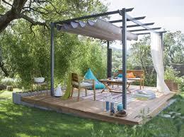 pergola grise petit prix leroy merlin jardin outdoor