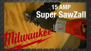 Milwaukee 15 AMP Super Sawzall Reciprocating Saw The Home Depot