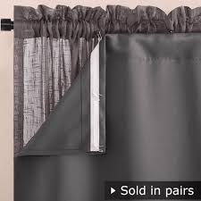 Grommet Insulated Curtain Liners by 100 Thermal Insulated Curtain Liner Rhapsody Lined Pole Top
