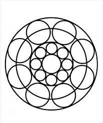 Print Mandala Coloring Page