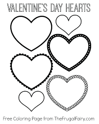 Heart Shaped Flag Coloring Pages Shape Shapes To Color