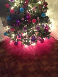 White Christmas Tree Skirt Walmart by Shabby Pink Tulle Tutu Tabletop Christmas Tree Skirt 20