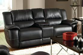 Darrin Leather Reclining Sofa With Console by Power Recliner Loveseat Leather Berkline Rocker 23310 Interior