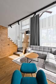 sehr modernes loft design im skandinavischen stil neue