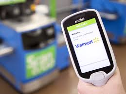 Walmart lets shoppers check out without cashiers or registers