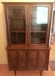 China Cabinet Modern Mid Century Compact By Furniture Stanley