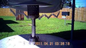 Mainstay Patio Heater Troubleshooting by How To Install Patio Heater Into A Table Youtube