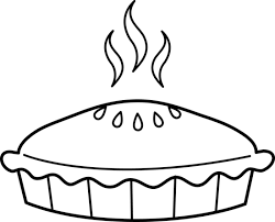 Pie black and white pie clipart black and white