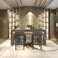 3d rendering weiß modern und luxus design esszimmer