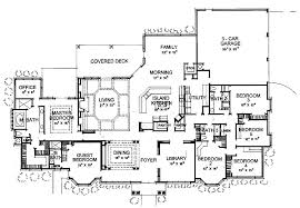 Innovational Ideas 6 Bedroom Home House Plans 7 1 Story Luxury