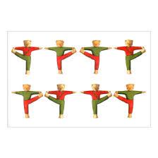 YogaTeds Yule Christmas Card