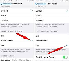 Turn f Voice Control iPhone 6 iphone picture solution