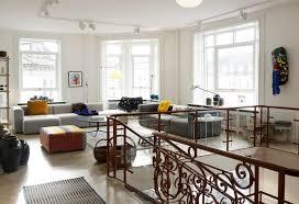 modernes wohnzimmer hocker sofa grauessofa ottom