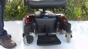 red pronto m51 like new power chair youtube