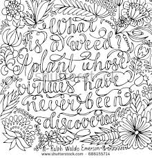 Coloring Page With Motivational Quote For Adult Anti Stress High