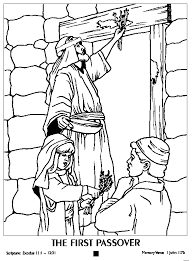 6 Superb Passover Coloring Pages