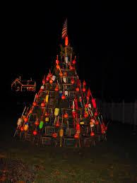 Decorative Lobster Trap Buoys by Island News