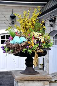 Beautiful Spring Urn Front Door Ideas Inspirations Home