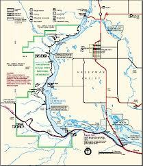 hagerman fossil beds national monument park map