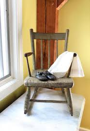 C. 1700's Painted Child's Rocking Chair - Rocker - Folk Art - Nursery -  Antique American Folk Art Recycled Rocking Chair Made From Seball Bats Ideas Bucket Seat Contemporary 43 Rocker Recliner In Brown Dollhouse Rocking Chair Miniature Wooden Fniture 1960s Triconfort Mid Century Recliner Rivera Pool Chair White Made In France Ardleigh Essex Gumtree Rivera Swivel Patio Ding Baseball Hall Of Fame Mariano Primed For Cooperstown Vintage Doll Tall Back Spindles Sedia A Dondolo Antica Faggio Curvato Tipo Thonet 1930 Yankees Honor Retiring Pregame Ceremony Cbs News Windsor Glider And Ottoman White With Gray Cushion Chalet Ski Teak Natural Elements