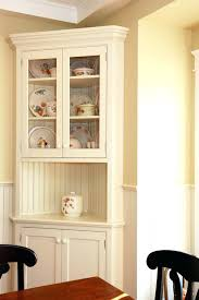 Hutch For Dining Room Traditional White Corner