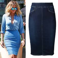 denim stretch skirt dress ala
