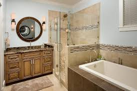 bathroom tile edge trim ideas traditional with beige molding