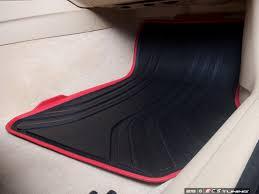 Bmw Floor Mats 2 Series by Genuine Bmw 51472219800 Sport Line Front Rubber Floor Mat Set