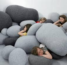 Oversized Round Floor Pillows