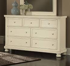 Vaughan Bassett Dresser With Mirror by Vaughan Bassett Reflections Parchment Triple Dresser 536 002