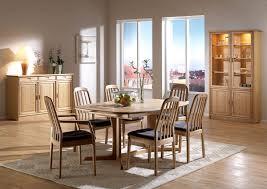 oak dining room setting frederiksborg nach dyrlund archello