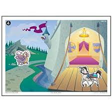 Magnetic Fantasy Adventure Stories Match Up Barrier Game
