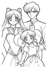 Unique Sailor Moon Coloring Pages Gallery