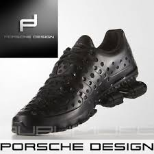 Adidas Porsche Design Bounce S4 S3 Mens Black Shoes P 5000 SIZE UK