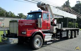 100 Ton Truck National 14127H 33ton Boom Crane On Western Star 4900SB For