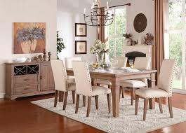 Homelegance 5108 84 Mill Valley Rustic Dining Room Set