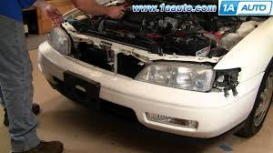 how to install replace headlight honda accord 94 97 1aauto