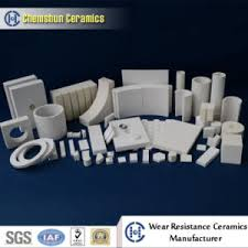 china high wear resistant ceramic liner tile by epoxy glue or