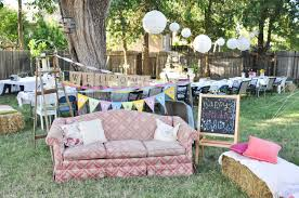 Outside Halloween Decoration Ideas, Backyard Country Birthday ... Wedding Decoration Ideas Photo With Stunning Backyard Party Decorating Outdoor Goods Decorations Mixed Round Table In White Patio Designs Pictures Decor Pinterest For Parties Simple Of Oosile Summer How To 25 Unique Parties Ideas On Backyard Sweet 16 For Bday Party