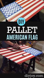 American Flag Pallet Sign Tutorial
