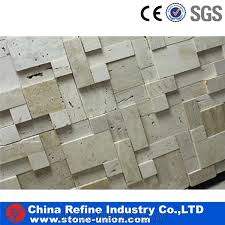 3d mosaic for sale white travertine paving cladding