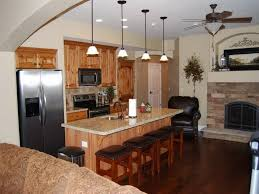 Kitchen Coolest Top Granite And Wooden Basement Design With Designs Kitchenette