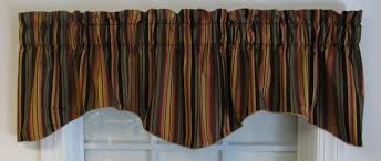 Vertical Striped Window Curtains by Valances Swags U0026 Window Toppers Thecurtainshop Com