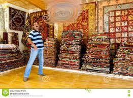 Download A Turkish Carpet Seller In Antalya Turkey Editorial Stock Photo